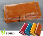 1 pcs in Cool Zipper Decorated Lady Women Long Wallet Purse Coin Bag Card Holder