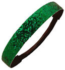 GLITTER HEADBANDS Glittery Sparkly Stretch Headband Softball & Sports SPARKLE