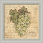 Grapes IV by Stephanie Marrott Vintage Style Framed Art Print Wall Décor Picture