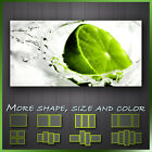 ' Kitchen Fruit Lime Splash ' Modern Contemporary Wall Art Deco Canvas Box