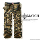 NEW Match Combat Men's Cargo Pants Camo Size 30-36