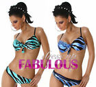 NEW SEXY BIKINI SET SIZE 6-8-10 HOT SWIMWEAR BEACHWEAR TOP BLUE GREEN BLACK