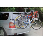 NEW 2 BIKE 3 BICYCLE CARRIER CAR RACK TRAILER TOWBAR CYCLE REAR UNIVERSAL BIKES