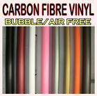 【300MM X 1520MM】ALL COLOUR 【Bubble Free】 Carbon Fibre Vinyl Wrap 3D Textured