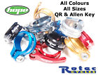 Hope Seat Clamps Allen Key Bolt or Quick Release QR ALL COLOURS & SIZES