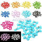 20 x Big Bowtie Acrylic Rhinestones for 3D Nail Art Tips Decoration