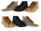 NEW WOMENS LADIES GIRLS FLAT HI HIGH TOP TRAINERS LACE UP PUMPS SHOE UK SIZE 3-8