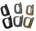 ITW NEXUS GRIMLOC MILITARY TACTICAL LIGHTWEIGHT POLYMER CARABINER,TAN,GREY,BLACK