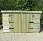 16mm Tanalised Timber wood Bike store Shed length & Width options Height 4'6-5