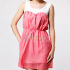 New Cute Girls Womens Summer Dress 9153 Green Pink US HOT SALE