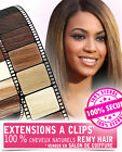 EXTENTION DE CHEVEUX NATURELS A CLIPS REMY HAIR