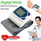 Digital Memory Wrist Blood Pressure Monitor & Heart Beat Meter Memory LCD Screen