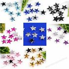 1000pc 8Color Acrylic Star Flat Bead For Nail Tip Art Stickers Phone Decoration
