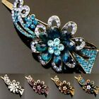 ADD'L Item FREE SHIPPING antiqued rhinestone crystals fiower hair clamp clip