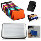 Metal Aluminium Business Id Credit Card Wallet Holder Pocket Case Box