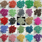 4/6/8/10mm Charm Faux Pearl Glass Spacer Loose Craft Beads For Jewelry Making