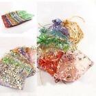 10/100pcs Gauze Organza 9 Styles Charm Gift Bags Fit Wedding Favor Or Gift Bags