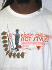 LRG Lifted Research Group Shirt New Mens Adopt Us Slim Fit White Tee Choose Size