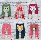 Brand New Baby Toddler Boy Girl Leggings Animal Trousers Pants 8 Colors U Choose