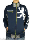 Scotland Lion Zip Top, Scottish Jacket, Navy, All Sizes