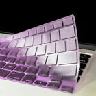 "PURPLE TPU Keyboard Cover Skin for New Mcbook pro15"" A1398 with Retina Display"