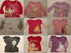 DISNEY Baby Girls 12 18 24 Month or 4T Choice Long Sleeve Shirt NWT