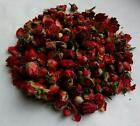 Dried Rose Buds Bright Red 1-3cm Various Weights Home Decor Crafts