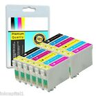 12 x Ink Replacements For Canon BCI-6B, BCI-6C, BCI-6M, BCI-6Y, BCI-6PM, CLI6-PC
