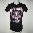 New Psychobilly Horror Punk Kreepsville 666 Revenge Is Sweet Girly Black T Shirt