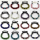 Premium SHAMBALLA Clay 85 Crystal 9 Disco Ball Beads BRACELET