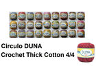 Circulo DUNA 4/4 100g 170m Crochet Cotton Thick Thread Yarn Chart 1 of 2