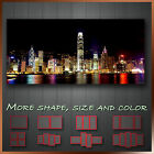 New ' Hong Kong Skyline ' Cityscape Modern Contemporary Art Canvas ~ More Style