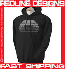 AUDI QUATTRO MENS CLASSIC RETRO CAR HOODIE DTG ALL SIZE & COLOURS AVAILABLE R4