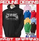 FORD FOCUS ST NEW CAR HOODIE DTG ALL SIZE & COLOURS AVAILABLE R17