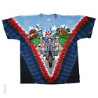 New GRATEFUL DEAD Motorcycle Sam Tie Dye T Shirt image