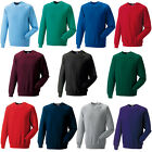 New RUSSELL Unisex Adults Raglan Sleeve Crew Neck Sweatshirt 13 Colours XS-4XL