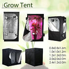 Hydroponic Indoor Grow Light Box Tent Dark Room Silver Mylar -FAST & FREE SHIP