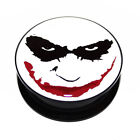 Batman Heath Ledger The Joker Face Dark Knight Acrylic Ear Plug Flesh Tunnel