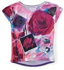 NEW Aeropostale Womens Floral Print Roses Dolman Relaxed Fit Tee Shirt Sz XXL