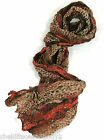 LONG CRINKLE STYLE LADIES FASHION SCARF VARIOUS COLOURS