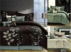 8 PC BEDDING SET - COMFORTER SET - BED IN A BAG - IN 3 COMBOS