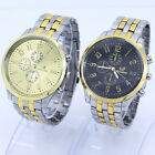 Luxury Fab Man Stainless Steel Case Alloy Adjust Band Wristwatch NG16
