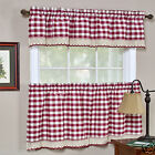 Kyпить Buffalo Check Gingham Custom Window Curtain Treatments - Assorted Colors & Sizes на еВаy.соm