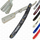 BARBER STRAIGHT CUT THROAT SHAVING RAZOR RASOIRS RASIERMESSER SHAVETTE & BLADES