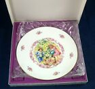 Royal Doulton VALENTINE'S DAY Collectible Plate 1985 Bone GREAT CONDITION W/BOX
