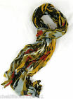 GORGEOUS LONG CRINKLY LADIES FASHION DRESS SCARF SCARVES VARIOUS COLOURS