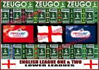 Zeugo * ENGLISH LEAGUE 1 & 2 / LOWER LEAGUES * Subbuteo Football Soccer Figures