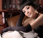 New apparel Stretch gloves over the elbow satin Opera wedding Bridal Prom Act
