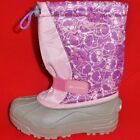 NEW Girl's Youth's COLUMBIA Pink/Purple 200G Insulated Winter Snow Rain Boots