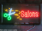 BRIGHT FLASHING HAIR DRESSER SALON BARBER WINDOW DISPLAY LED LIGHT SIGN UKSELLER
